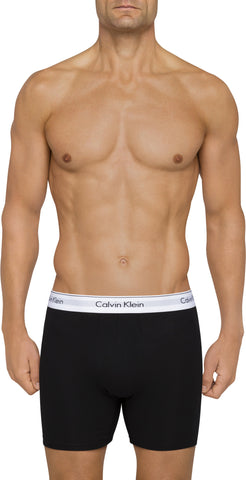 Calvin Klein Men's Cotton Stretch Boxer Brief in Back 2 Pack