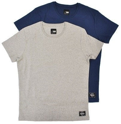Mossimo 2pk Sleep Tee - Bruce (Navy / Grey Marle)