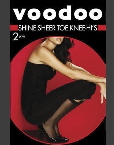 Voodoo Shine Sheer Toe Knee