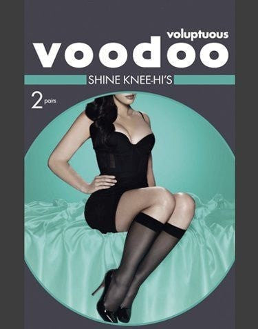 Voodoo Voluptuous Shine Knee