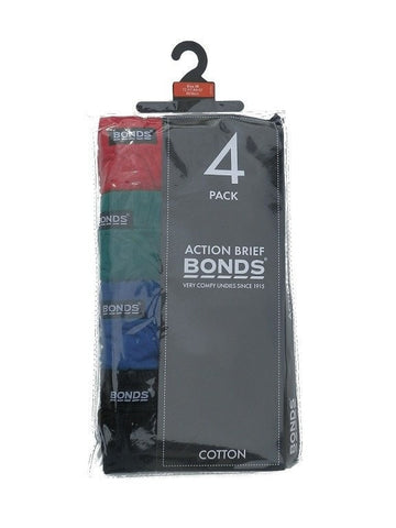 Bonds Action Briefs 4 Pack