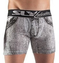 Sly Underwear Trunks WHITE DENIM