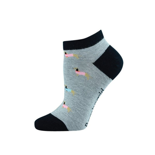 Pussyfoot Bamboozld Sausage Dog Design Socks