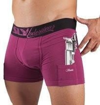 Sly Underwear Trunks THUG LIFE PURPLE