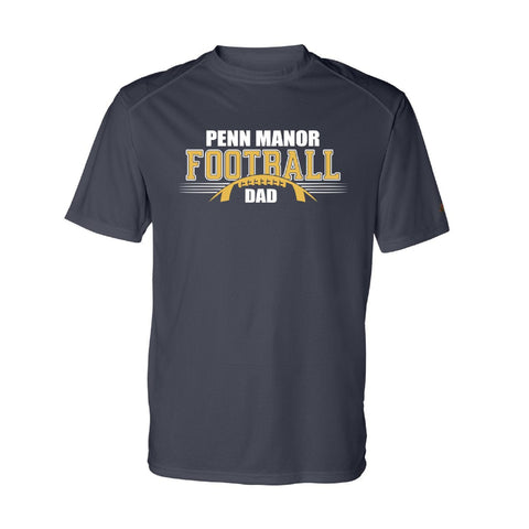 PM Football Dad Performance Tee