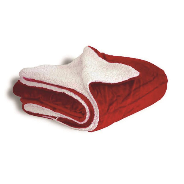 Alpine Fleece - Micro Mink Sherpa Blanket with personalization