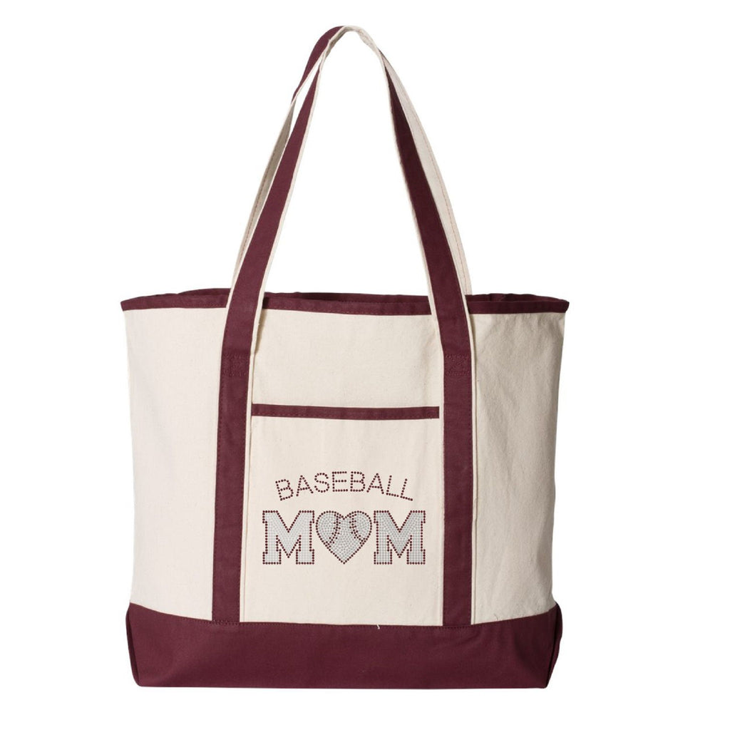 Columbia Baseball Mom Large Tote