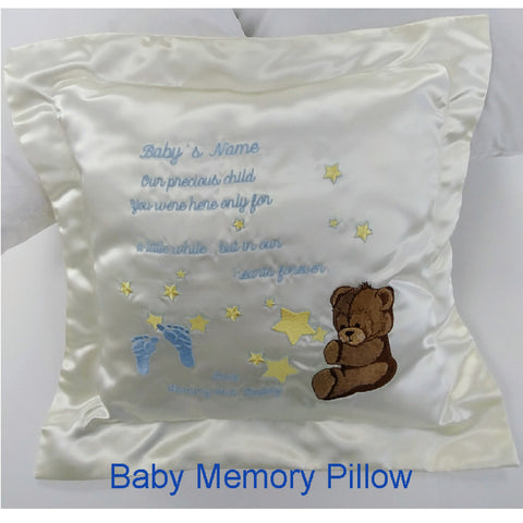 Baby Remembrance Pillow