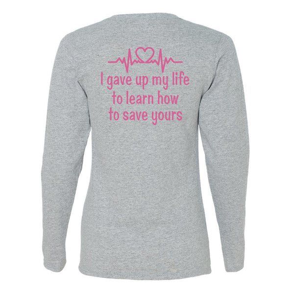 Nurse Life Long Sleeve Tee