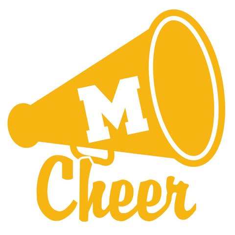 Mountville Cheer Car Decal