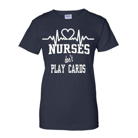 Nurses don't Play Cards Design 2