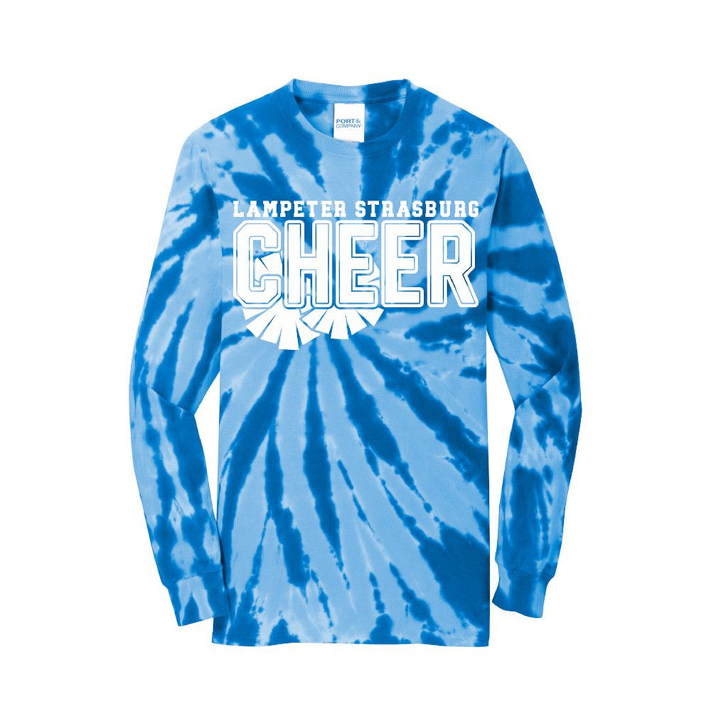 LS Cheer Tie-dye Long Sleeve Shirt