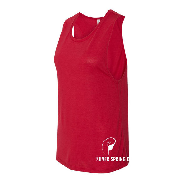 Women's Flowy Scoop Muscle Tank