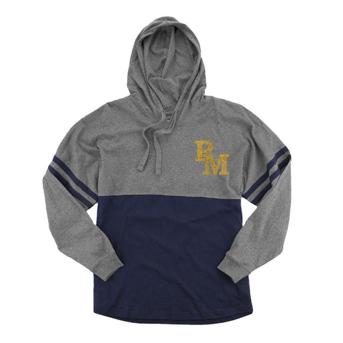 PM Hooded Pom Pom Jersey