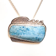 Among the Waves Apatite Pendant