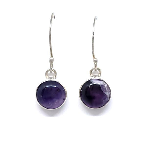 Dogtooth Amethyst Earrings