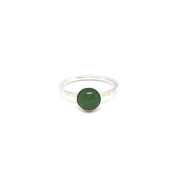 Aventurine Stacker Ring