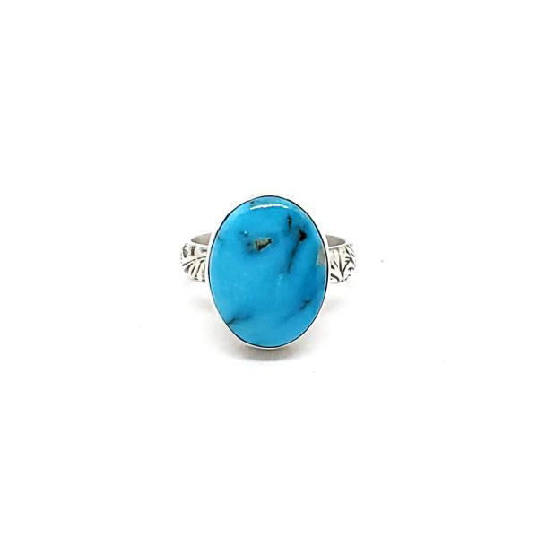 Kingman Turquoise with floral band