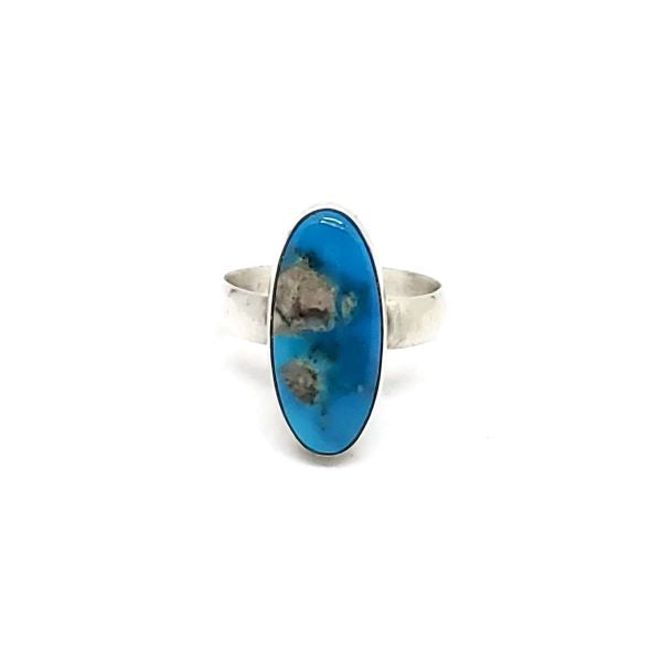 Kingman Turquoise with plain band