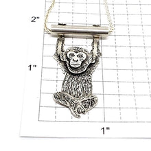 Zini the Monkey Pendant