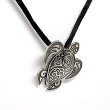 Tribal Turtle Pendant