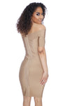 """Kiss"" Bandage Dress"