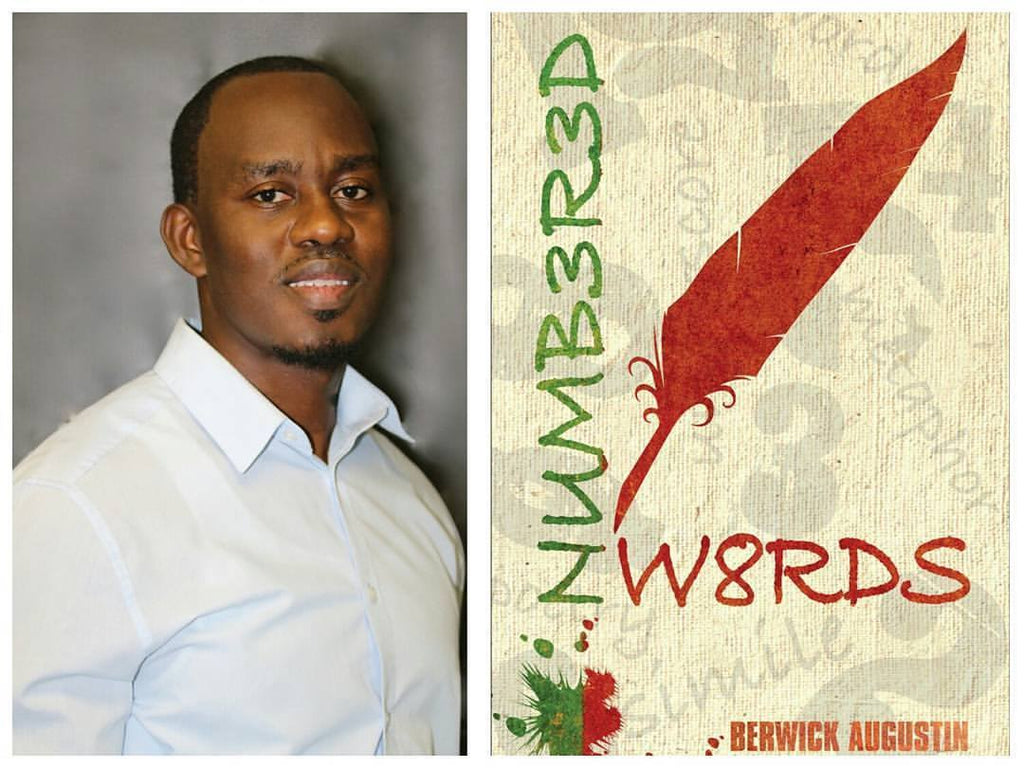Numbered Words Poetry Book Signing