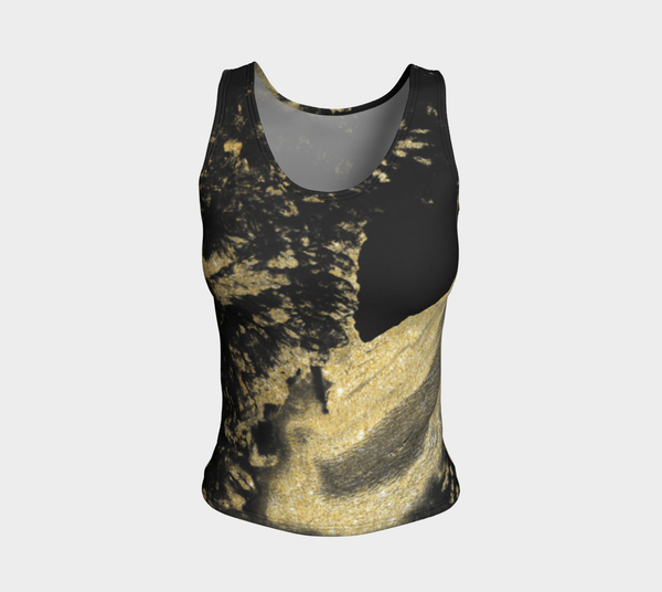 Siren Marblized Fitted Tank Top