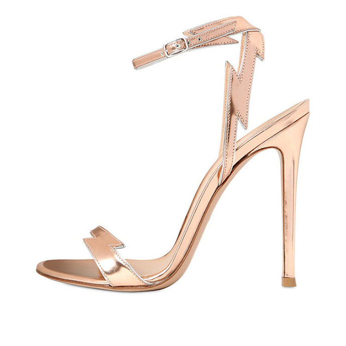 Flash Gilded | Sultry Party Chic Stiletto