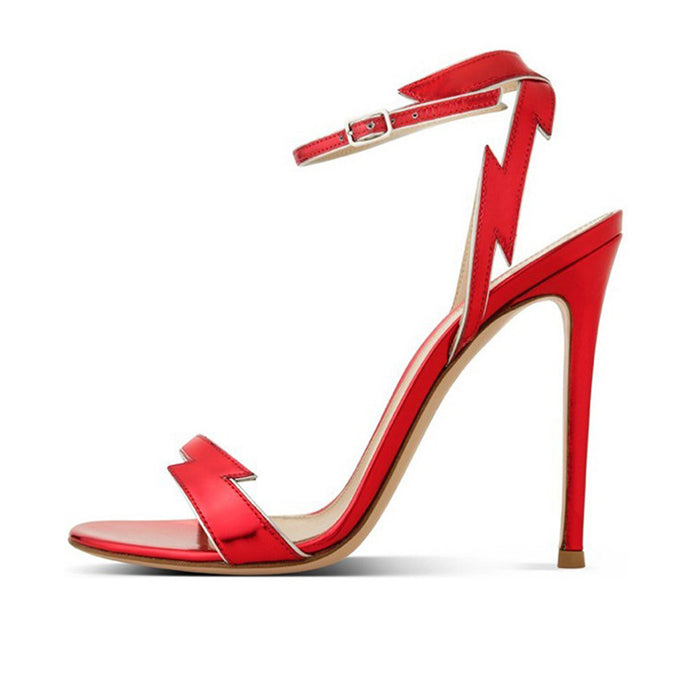 Flash Rouge | Sultry Party Chic Stiletto