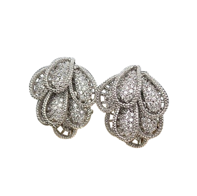 Palm Regency | Hollywood Regency Style Earrings