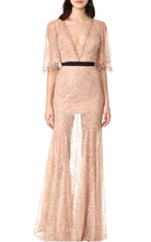 Innocent Provocatuer | Sultry Blush Lace Empire Waist Gown