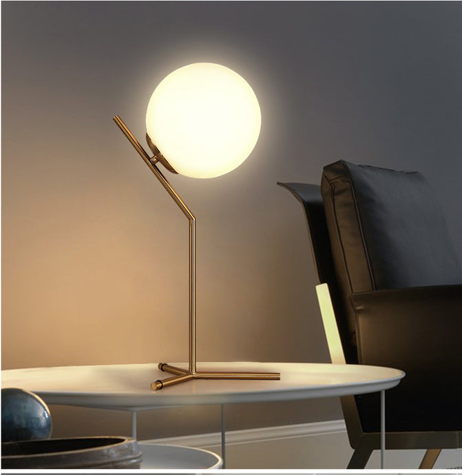 Orbit | Modern Glass Orb Lamp