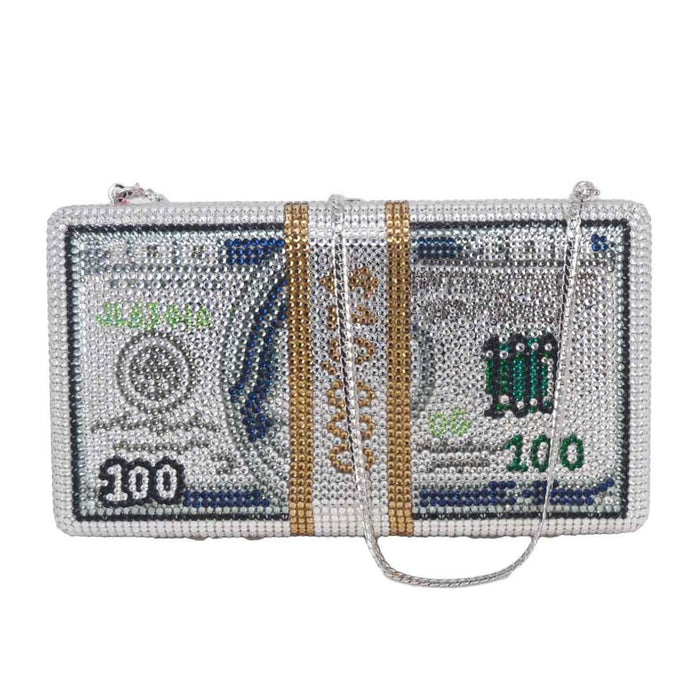 Money Bag | Crystal Clutch