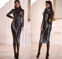 Shazia | Elengant Sequin Midi Dress
