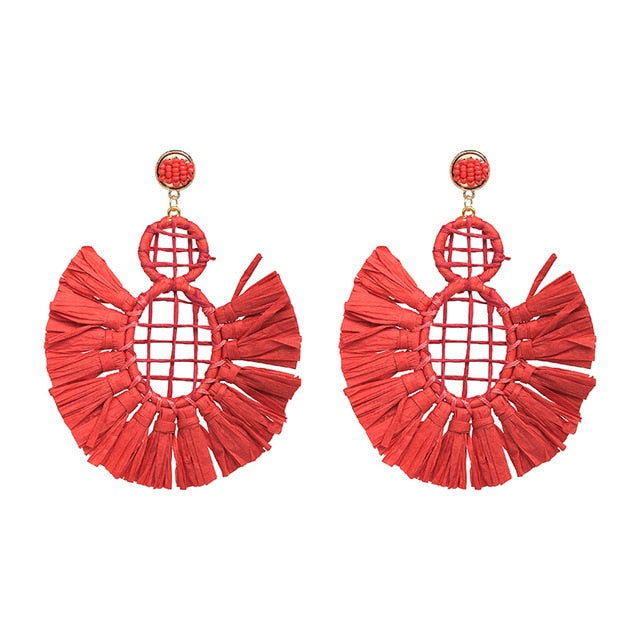 Machu Fan Earring | Rose