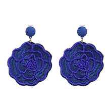 Madrid Beaded Earring | Azure