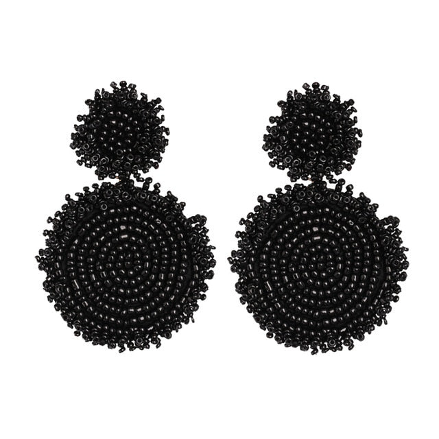Oman Earring | Black