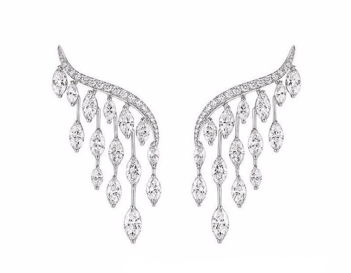 Phoenix Rain | Crystal Drip Earrings