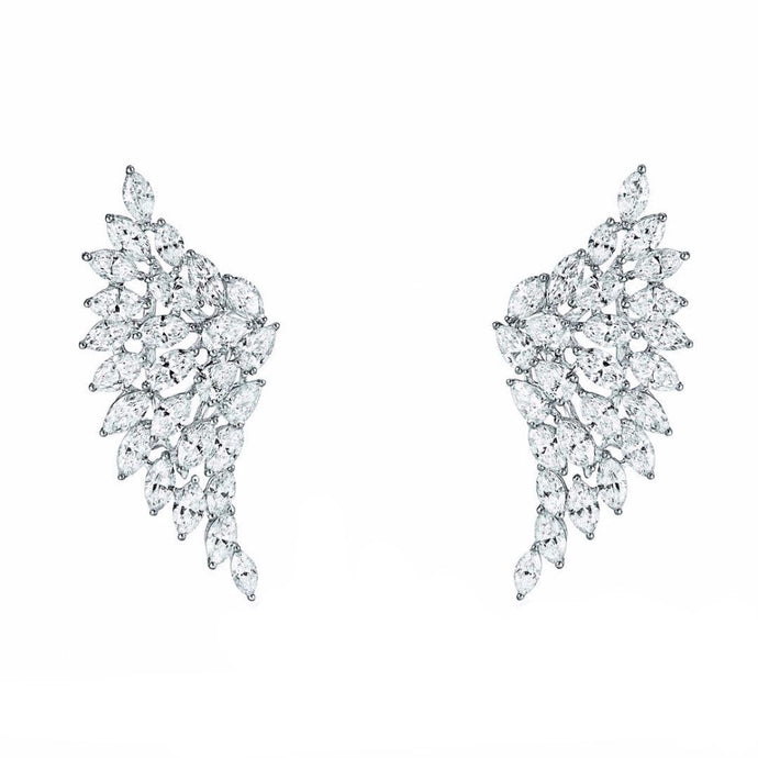 Gabriel | Luxury Crystal Wing Earrings
