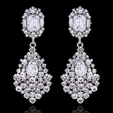 Raquel | Classic Teardrop Crystal Earrings