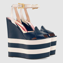 Kidman  | Sky High Wedge Peeptoe Heels