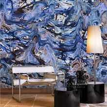 Blue Period | Abstract Wall Mural