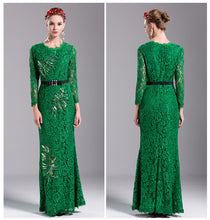 Daria | High Elegance Luxury Embroidered Floral Lace Gown