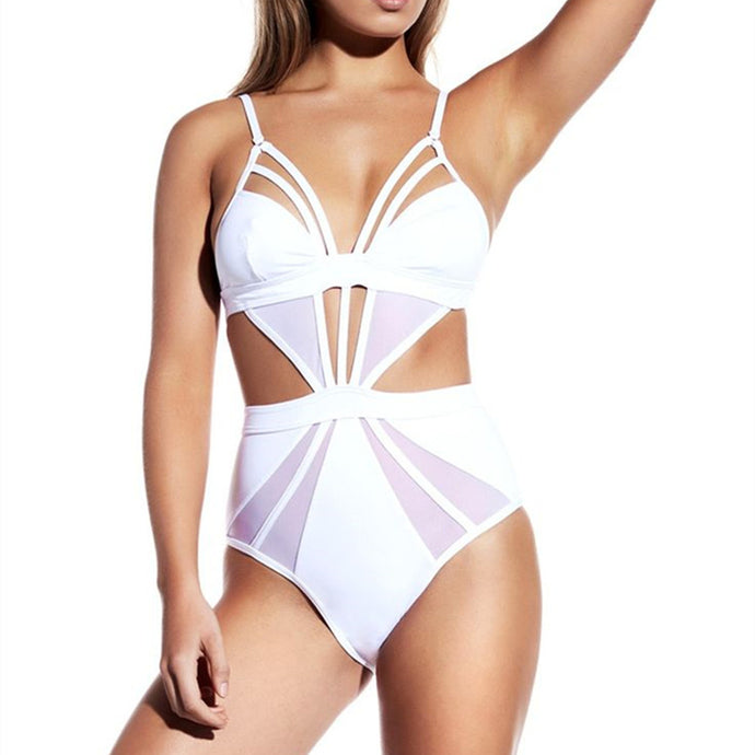 Victoria | Sexy Bandage Once Piece Swimsuit