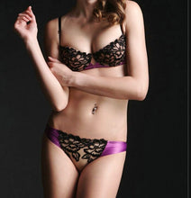 Vera | Sexy Lace Embroidery Bra and Panty Set