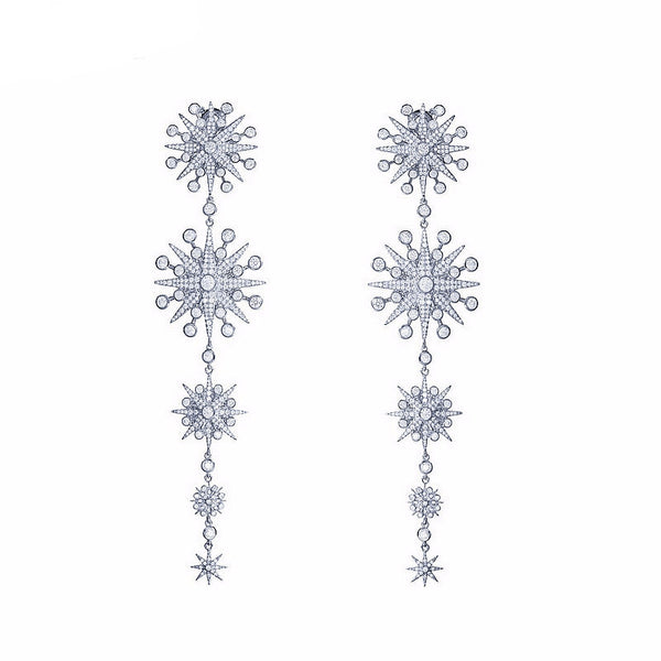 Amun Rah | Delicate Star Drop Earring