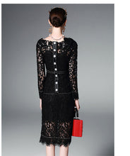 Audrey l High Luxury Sequin Embroidered Lace Bodycon Dress