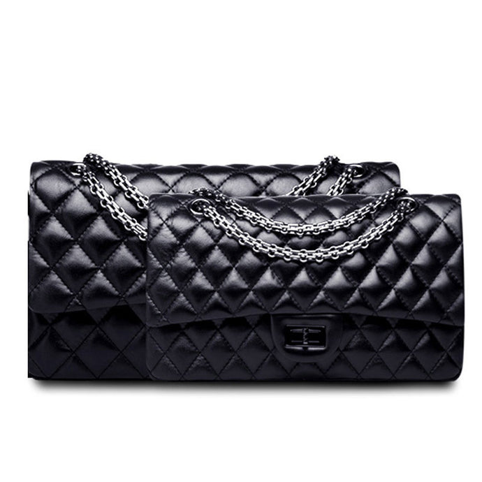 Claude l High Luxury Leather Crossbody Chain Bag