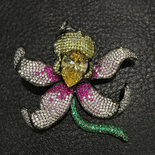 Eden | High Luxury Orchid Brooch 925 sterling silver